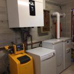 installation chaudière frisquet par l'entreprise Eyrard