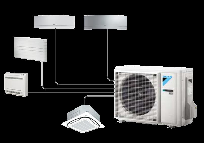 Pompe à chaleur Air Air Multispit
