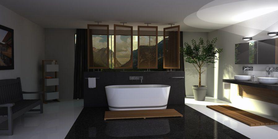 salle de bain design entreprise Eyrard